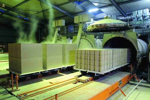 Ниже представлена обобщенная схема процесса производства газосиликатных блоков Итонг.