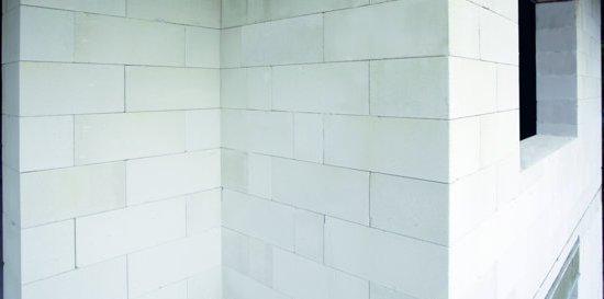 стена из стенового блока