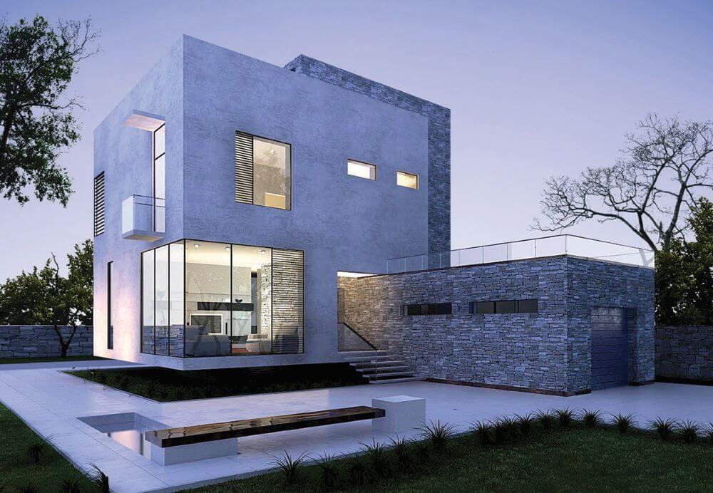 пример построенного дома